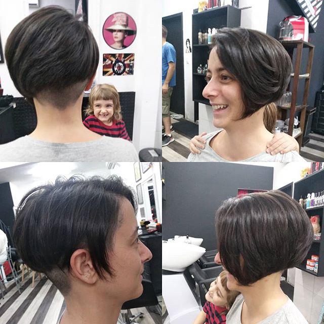 Que cabelo lindo,por @renatagarage60s #garage60s #pixiecut #shortbob #raspado #sidcut  #cabelolindo Nosso agendamento é online garage60s.com